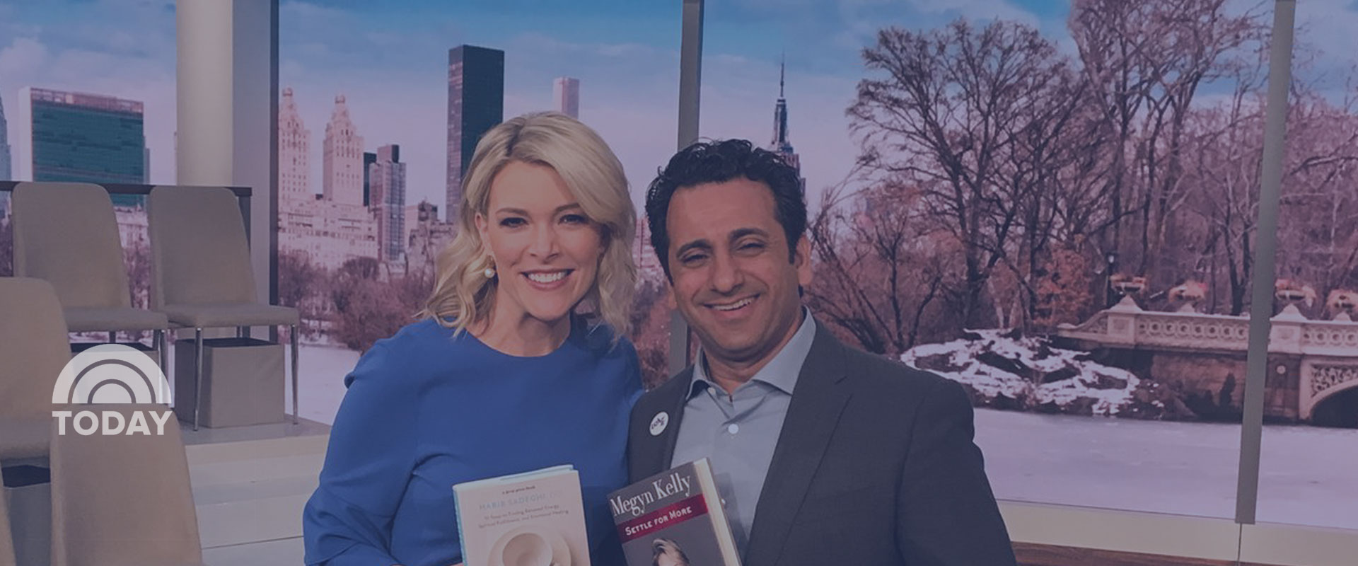 Dr. Sadeghi Visits  Megyn Kelly TODAY Show (VIDEO)