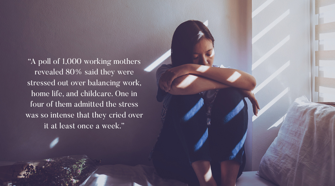 Running on Empty: Working moms increasingly exhausted trying to live two lives