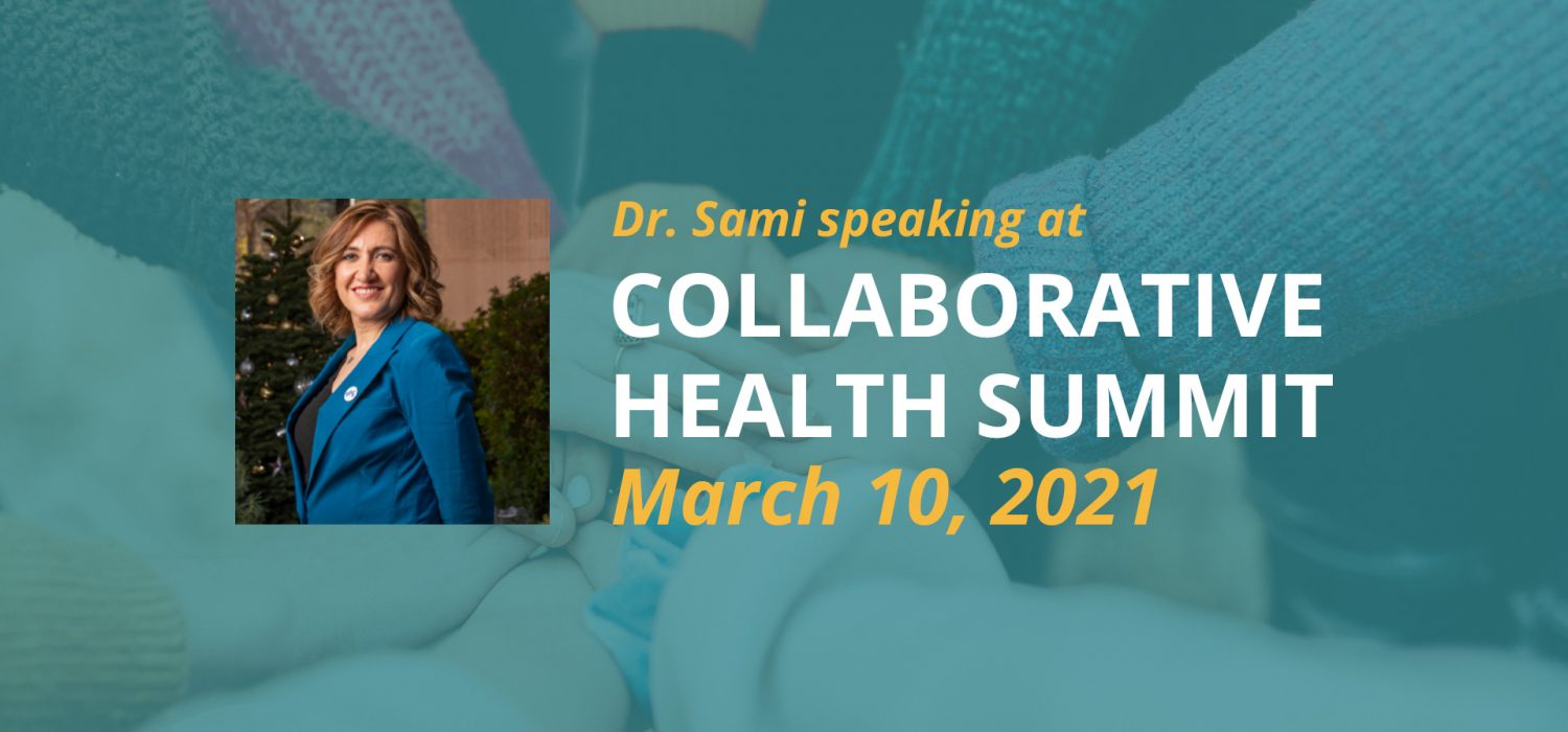 Dr. Sami Speaking at the Collaborative Health Summit on March 10